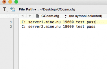How To Create CCcam Cfg File