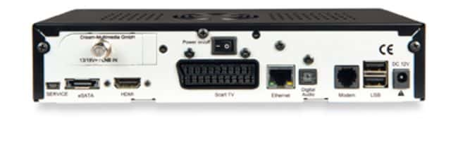 Appearance and connectivity Dreambox DM800 HD
