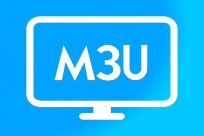 What is M3U list?